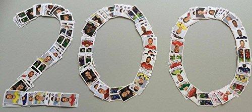 Panini EURO 2016 France - 200 verschiedene Sticker (keine Doppelten)