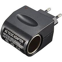 Takestop® Adaptador AC/DC enchufe enchufe 220V Salida 500mAh (500milliampere/0,5amperios) Mechero Coche Red 12V transformador corriente