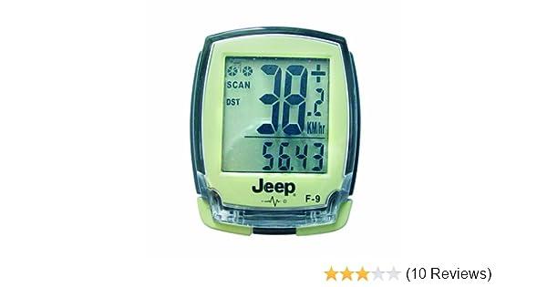 Entfernungsmesser Falk : Jeep radcomputer mit 20 funktionen drahtlose Übertragung 0869
