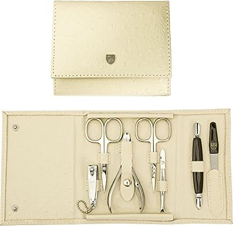 TROIS EPÉES | Kit / set / ensemble / trousse de manicure - manucure - pédicure - beauty / beaute - soins des ongles / personnels / mains / pieds | 7 pièces | marque de qualitè (741011)