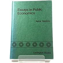 Essays in Public Economics: The Kiryat Anavim Papers