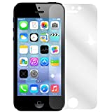 dipos I 2X Schutzfolie klar passend für Apple iPhone SE / 5S / 5 Folie Bildschirmschutzfolie