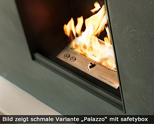 muenkel-Diseo-Palazzo-grande-etanol-Chimenea-Blanco-Pizarra-Beige–con-cristal–hotbox