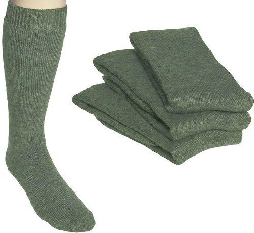 socksPur -  Calzettoni  - Uomo Lodengrün