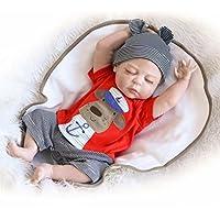 NPK 20 Pulgadas Gel de Sílice Completo Vinilo Reconstruir Muñecas 50cm Realista Recién Nacido A la Chica Regalos de Vacaciones Full Silicone Vinyl Reborn Baby Doll
