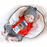 20 inch Full Body Silicone Reborn Baby Doll Boy Toys 50cm Real Life