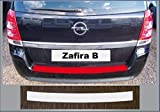passgenau für Opel Zafira B, 2005-2011 Lackschutzfolie Ladekantenschutz transparent