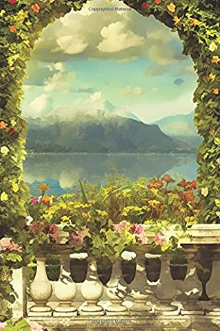 Rose Arch Over the Bay Any Day Planner Notebook: Scheduler Organizer Datebook