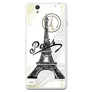 a AND b Designer Printed Mobile Back Cover / Back Case For Sony Xperia C4 (SONY_C4_2360)