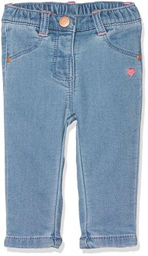 Grain de Blé Baby-Mädchen Jeanshose Pantalon Denim Blau (Himmelblau), 6-9 Monate