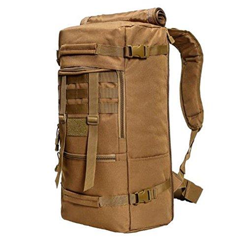 Zaino multifunzione 900D Camouflage stile borsa Spalle impermeabili Tattiche Zaino Outdoor Leisure , ArmyGreen khaki