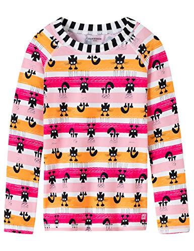 Schiesser Mädchen Water Cat Bade-Shirt Strandkleid, Mehrfarbig (Multicolor 1 904), 98 (Herstellergröße: 098) -