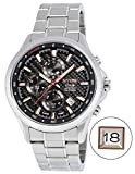 Nysw   Luxe Hybride Smartwatch-mécanique Jour-Verre Saphir-Bracelet en Acier Massif-Superbe et Plus Encore (Brocante MH-04Mécaniques)...