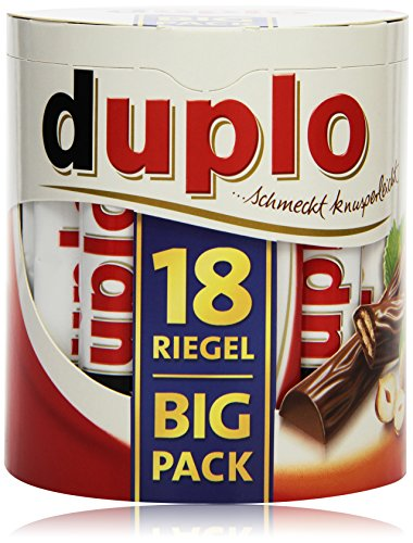 Ferrero Duplo Big Pack, 18 Riegel, 327 g