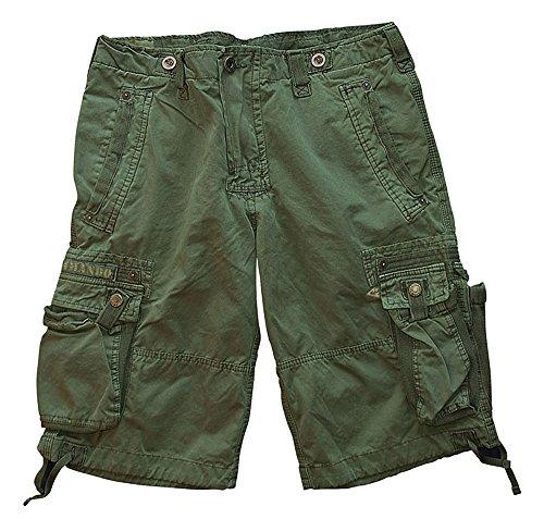 Commando Industries -  Pantaloncini  - Uomo oliva