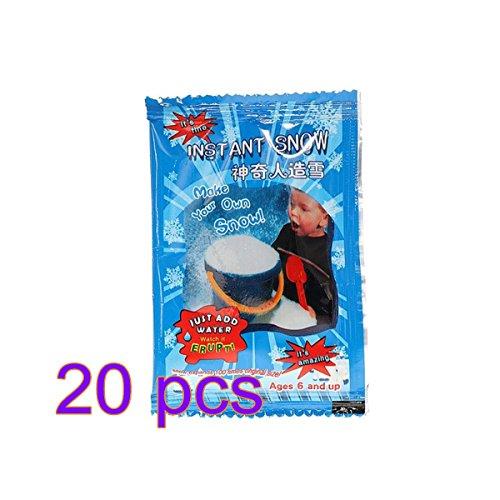 Fake Künstliche Schnee Pulver Instant Xmas Magic Wiederverwendbar Dekoration Weihnachten Kunst und Handwerk Party Dekoration Kinder Kid Geschenk ()
