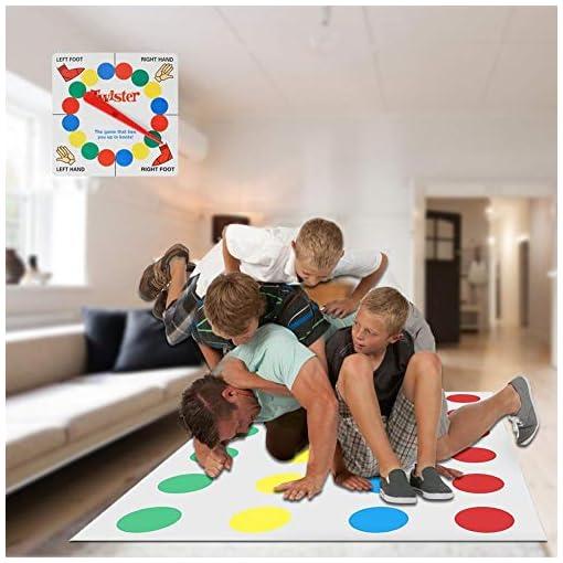 Millster-Spiel-Team-Kinder-Brettspiel-Lernaktivitt-Spa-Spielen-Laufen-Matt-Picknick-im-Freien-Sport-Twister-Spiel-Spielzeug