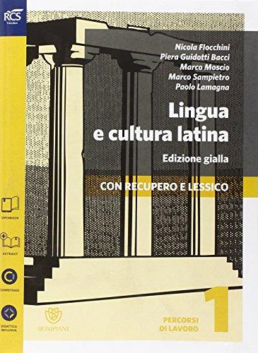 Lingua e cultura latina e lessico. Percorsi-Repertorio lessicale. Ediz. gialla. Per le Scuole superiori. Con e-book. Con espansione online: 1