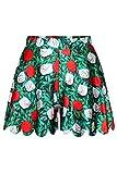 Rosa reina® Womens Stretch Shorties pantalones cortos falda con Varity 3d impresión digital