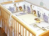 Nestchen 420cm für Baby Bett Kopfschutz Umrandung füe Bett 70x140 cm D25