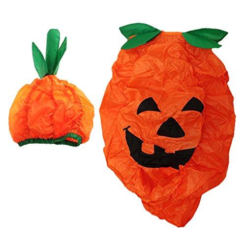 Baoblaze Aufblasbares Kürbis Kostüm Erwachsenes Blowup Kostüm Fatsuit Luft Fett Anzug für Halloween Karneval und Cosplay