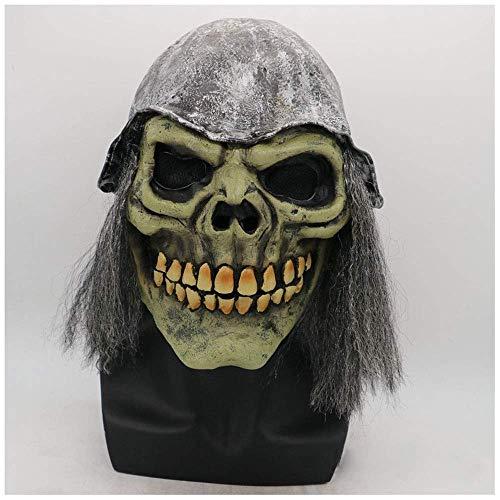 YaPin Halloween Horror Schädel Maske Mummy Ghost Gesicht Helm Kindertag Secret Room Performance Requisiten Lustige Shaking Ghost Dance Maske (Halloween Secret 13 Von Tage)