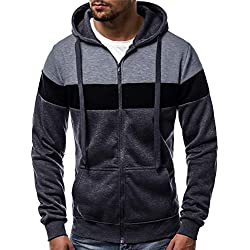 Homme Hiver Chaud Sweats Épaisse Veste à Capuche Doublée Polaire Manteaux Doux Hoodie Blousons Sweat-Shirts Manches Longues Jacket Outwear Coat Top Pants Sets