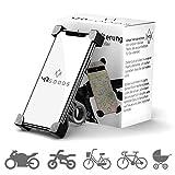 MR Goods® Smartphone Halterung Fahrrad – Handyhalter für Fahrräder und Motorräder – Handyhalterung am Lenker anbringen und los Fahren