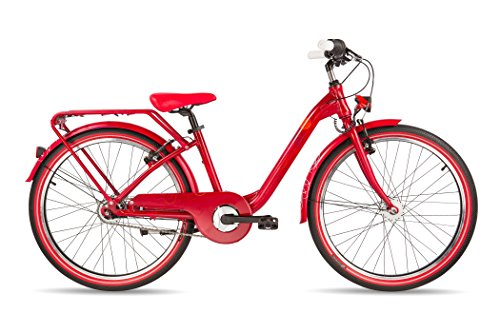 s'cool chiX pro 24-7 darkred matt 2017 Kinderfahrrad