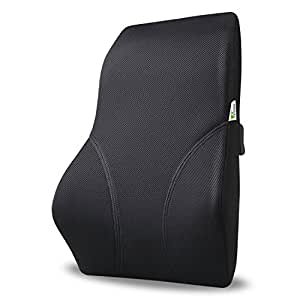Amzdeal Car Lumbar Cushion Car Seat Cover Lumbar Support