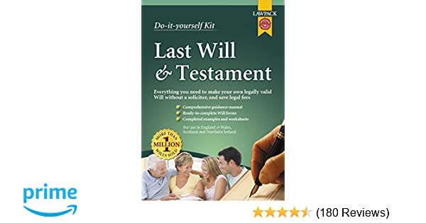 Last will testament kit do it yourself kit amazon last will testament kit do it yourself kit amazon eason rajah qc richard dew neill clerk murray 9781909104082 books solutioingenieria Images
