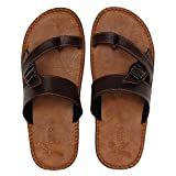 Best Leather Slippers - Kraasa NewLook SL5118 Slippers TanBrown UK 6 Review