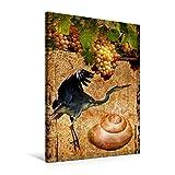 Premium Textil-Leinwand 60 cm x 90 cm hoch, Ein Motiv aus dem Kalender Carpe diem- Lebensfreude | Wandbild, Bild auf Keilrahmen, Fertigbild auf echter Leinwand, Leinwanddruck (CALVENDO Natur)