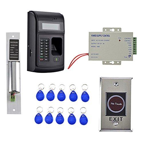 Baoblaze RFID Card Reader Sensor Fingerprint Access Control System, einfach zu instalieren -