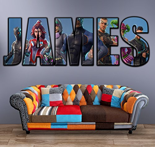 48 Best Fortnite Stickers, Decals & Wall Art For Bedrooms – WPin UK