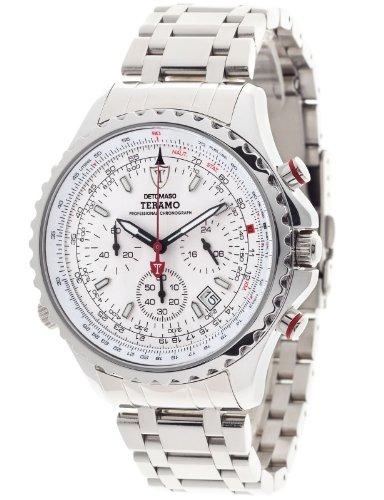 DETOMASO Herren-Armbanduhr Chronograph Quarz DT1029-C