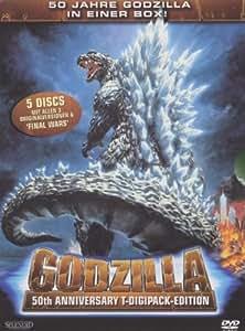 Godzilla - 50th Anniversary T-Digi-Pak Edition [Limited Edition] [5 DVDs]