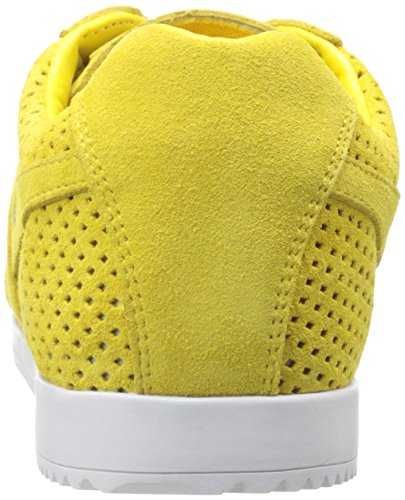 Gola Harrier Squared - Scarpe da Ginnastica Basse donna Giallo (Yellow)