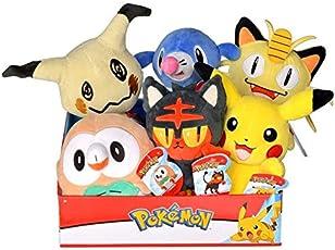 Lively Moments Pokemon Plüschtier / Kuscheltier / Plüschfigur Bauz / Rowlet / Brindibou
