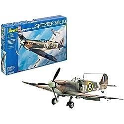 Revell- Supermarine Spitfire MK.IIa, Kit de Modelo, Escala 1:32 (3986) (03986)