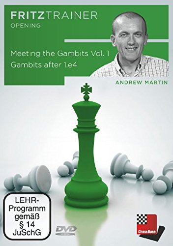 Meeting the Gambits Vol.1 - Gambits after 1.e4 von Andrew Martin