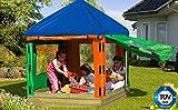 Gartenwelt Riegelsberger Kinderpavillon (LxBxH): 153 x 153 x 180 cm/Sandkasten Willi aus Holz mit Pavillon und Plane/Sandkastenbretter 30 mm stark, gehobelt und gefast/inkl. 2 Sitzecken