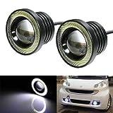 #10: Autotrends High Power Projector LED Angel Eye Fog Light (10W, 2 Bulbs)