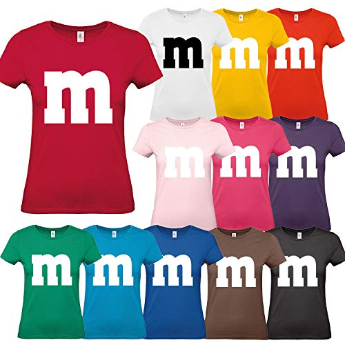 Nation Damen T Shirt Rundhals Karneval Fasching Jga Gruppen