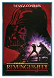 Close Up Star Wars Poster Revenge of the Jedi (94x63,5 cm) gerahmt in: Rahmen türkis