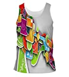 Snoogg Colorful Pattern Design Mens Casual Beach Fitness Vests Tank Tops Sleeveless T shirts Amazon