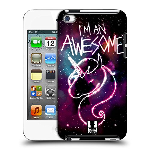 Head Case Designs Einhorn Nebel Kunst Harte Rueckseiten Huelle kompatibel mit Apple iPod Touch 4G 4th Gen (Ipod 8gb 4. Gen)