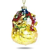 SIKORA BS392 Glas Figur Christbaumschmuck Weihnachtsbaum Anhänger GESCHENKE SACK 7cm