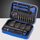 Gaddrt Schraubendreher-Werkzeugsatz Akkuschrauber Schraubendreher-Sets Manuelle Multifunktionsgeräte für den Haushalt Y-Typ Pflaumentyp (Blau)