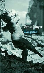 La Paix de Ernst Jünger